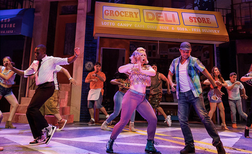 geva theatre stage show